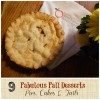 9 Fabulous Fall Desserts