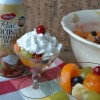 7 Fruit Salad with Coconut Whipped Cream