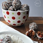 Christmas Cookies Week - Coconut Cherry Snowballs
