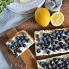 Joanna Gaines Blueberry Mascarpone Tart