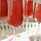 Blush - A Sparkling Wine Cocktail