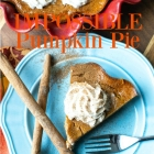 Impossible Pumpkin Pie #PumpkinWeek
