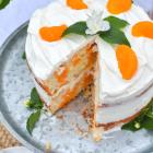 Dreamy Orange Creamsicle Poke Cake
