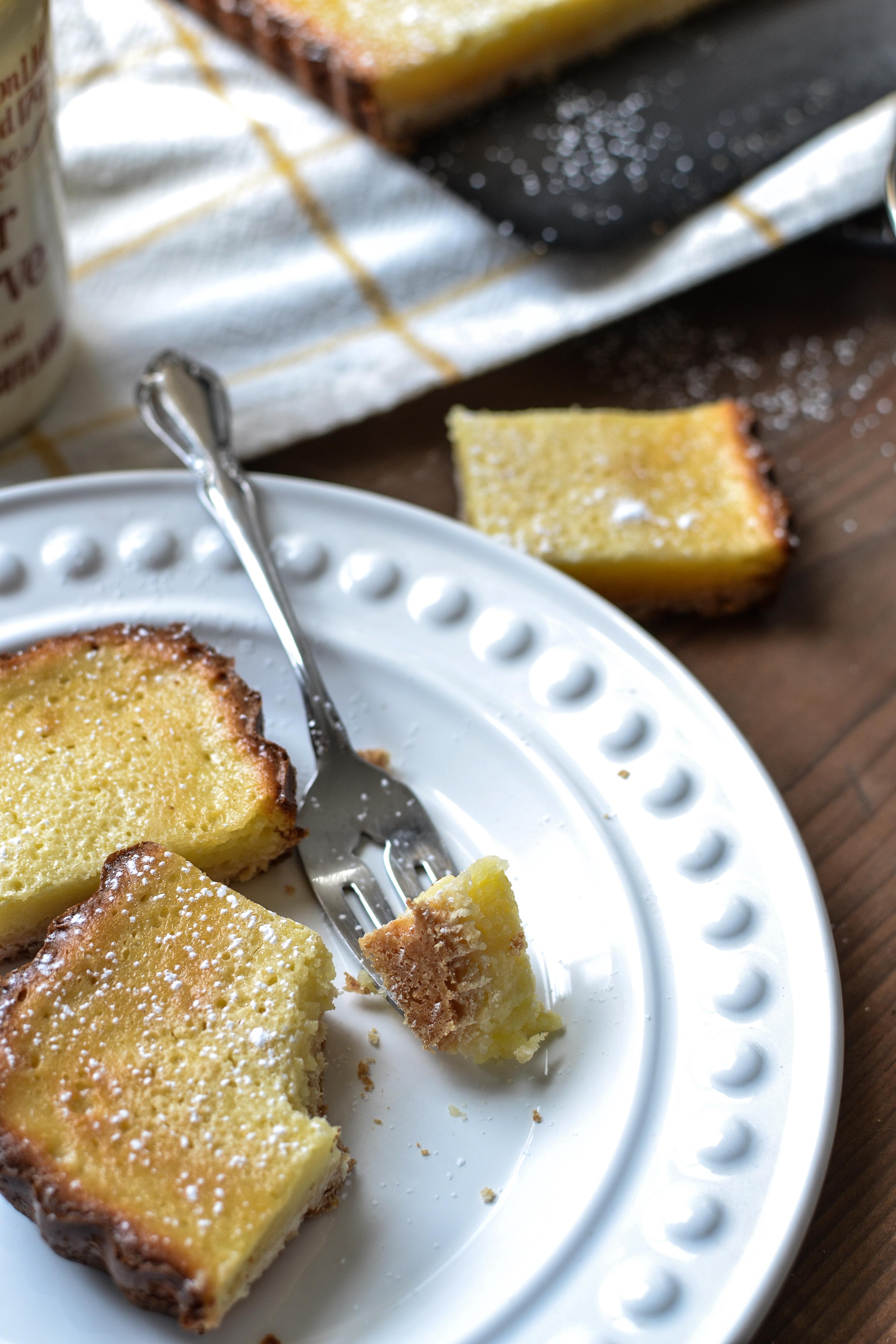 Creamy Lemon Squares recipe