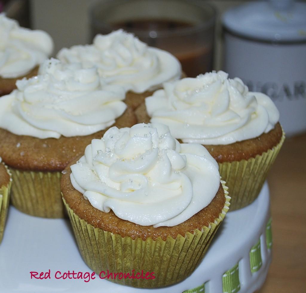 Ice wine cupcakes