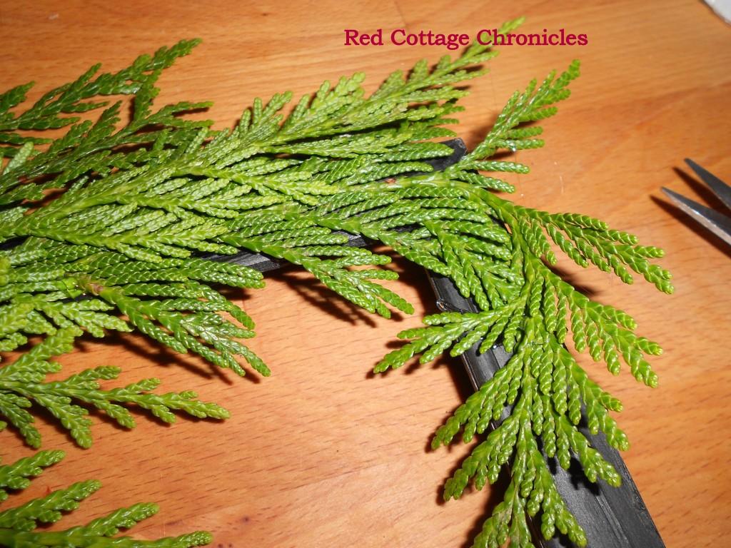 cedar wreath tutorial with santa u0026 39 s magic key