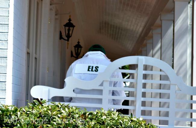 Ernie Els The Masters 2013