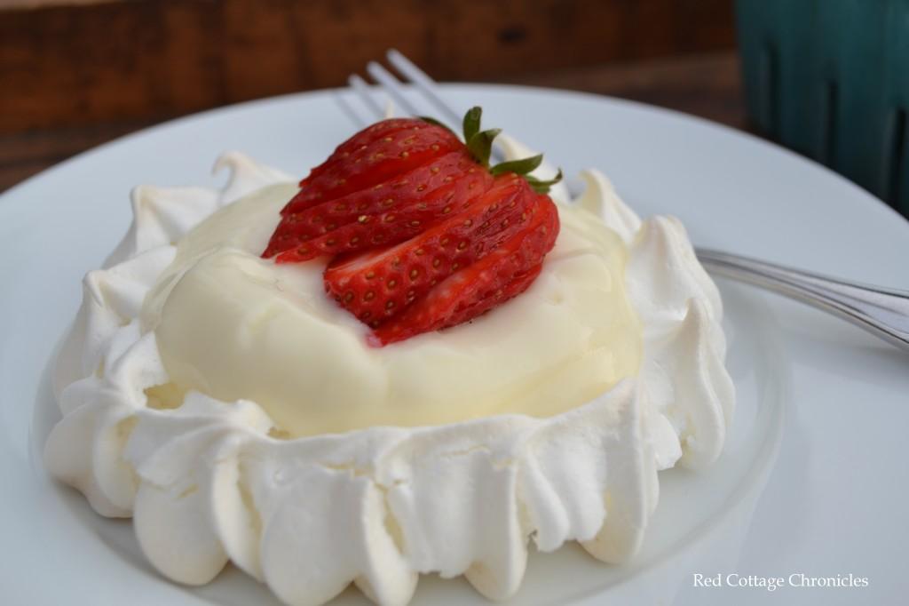 lemon strawberry tart