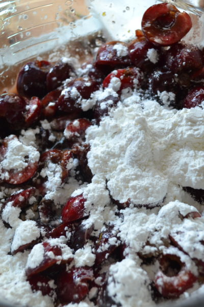 Boozy Cherry-Chocolate Pies