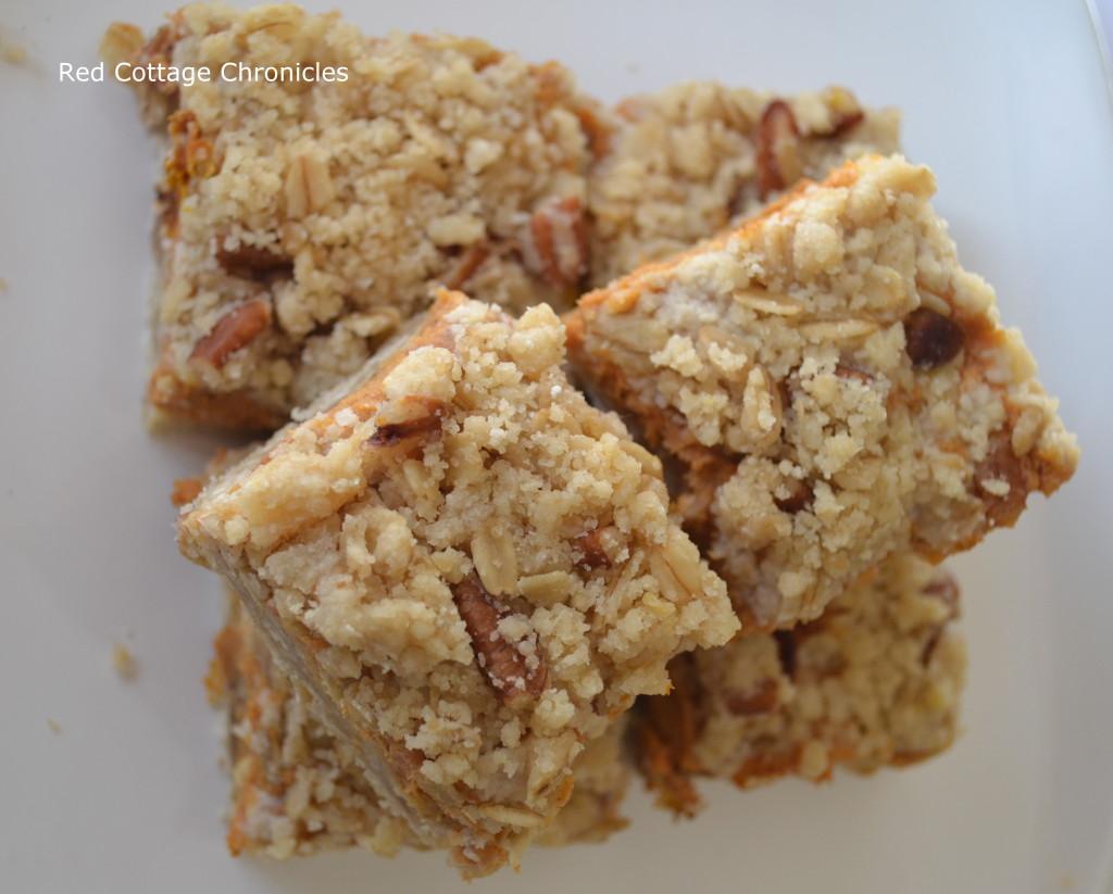 pumpkin pie squares 1