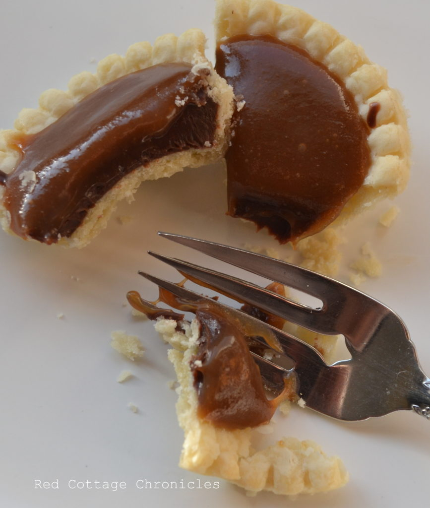 chocolate truffle tarts 2