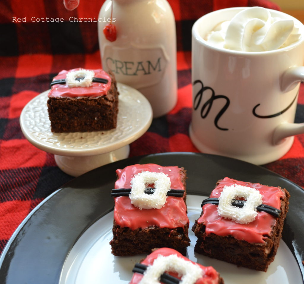 santa brownies 3