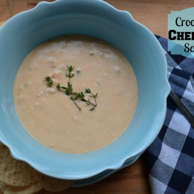 Slow Cooker Cheddar Soup