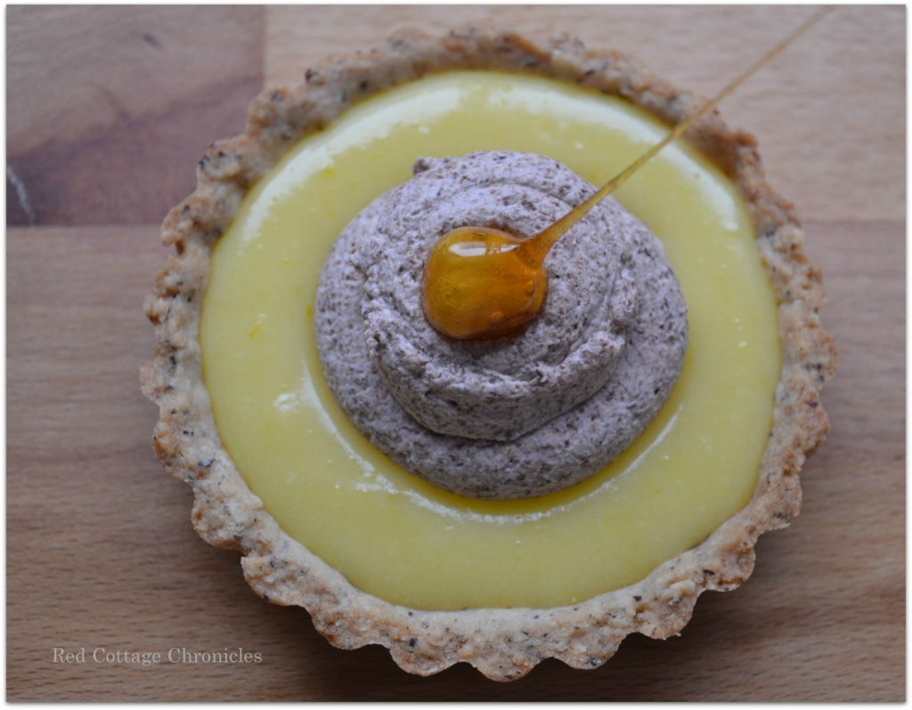 hazelnut orange tart 5