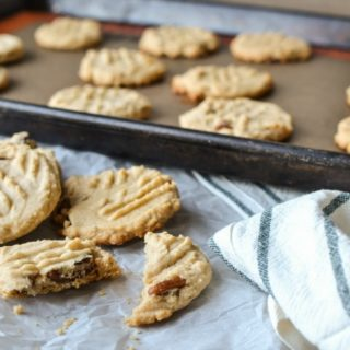 Chew Peanut Butter Cookies