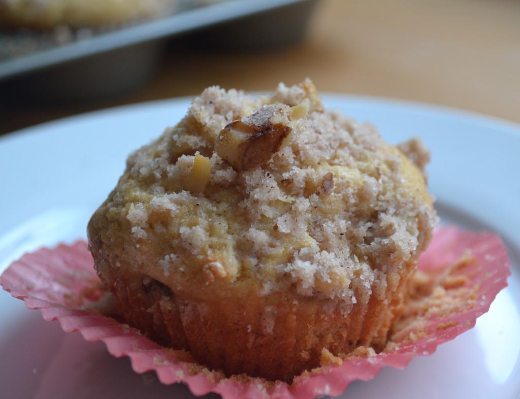 maple walnut muffins 1