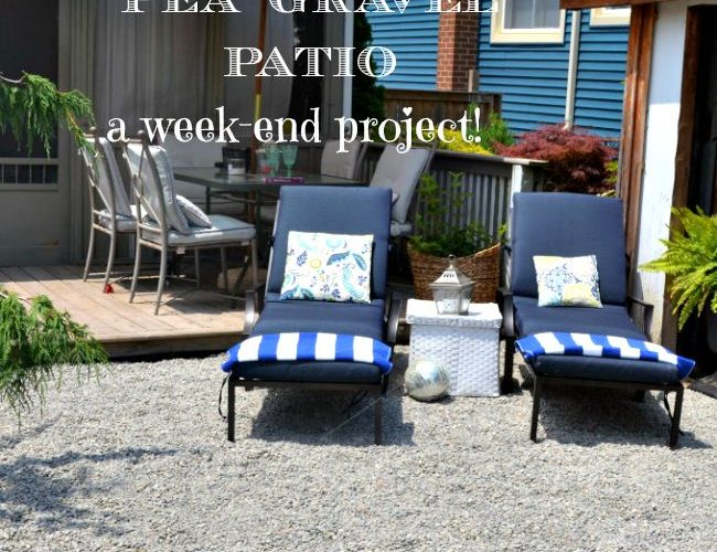Weekend Patio Project