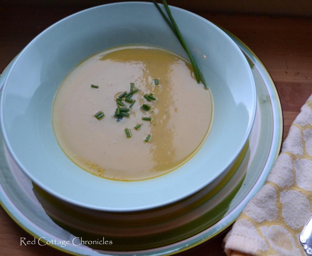Paleo Potato & Leek Soup