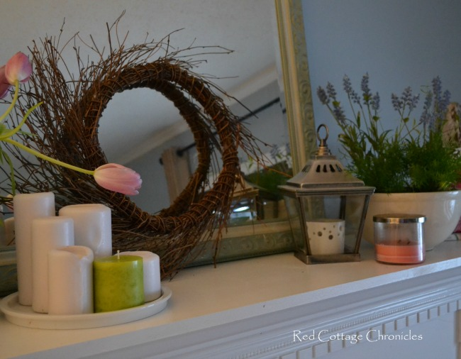 Early Spring Mantel