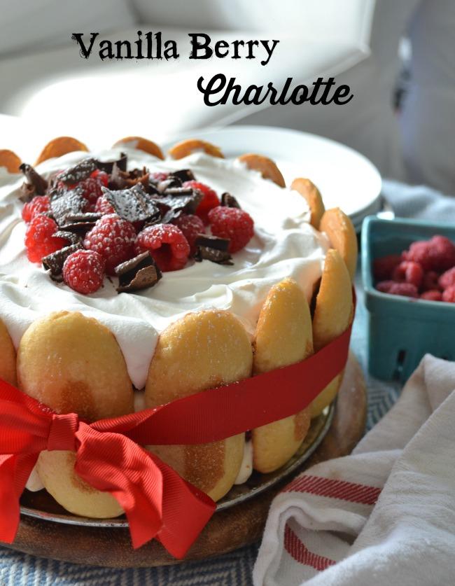 vanilla berry charlotte