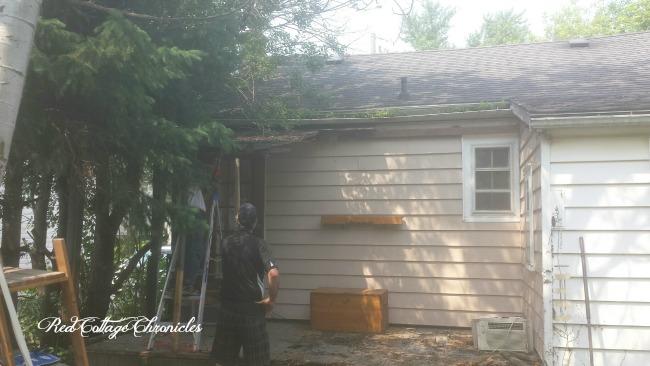 Screen Porch Demolition