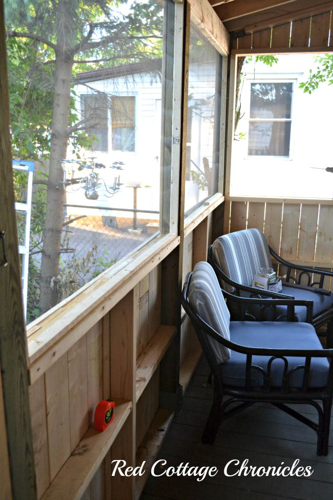 Screen Porch Renovation