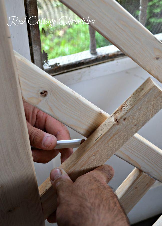 Wood Screen Door Tutorial