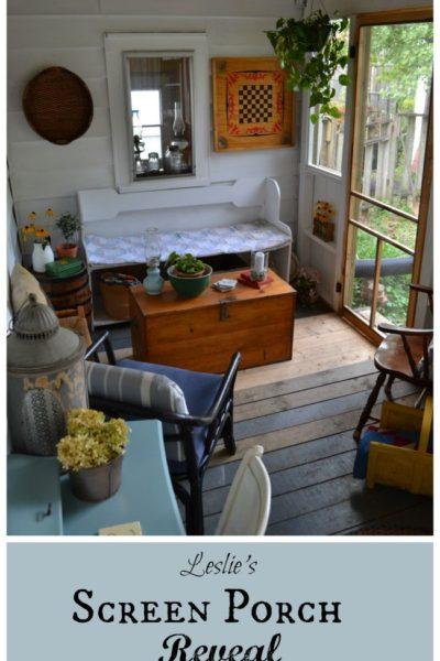 Rustic Screen Porch