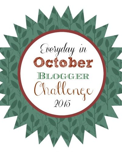 October Blogging Challenge
