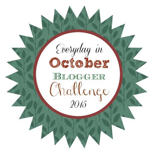 October Blogging Challenge