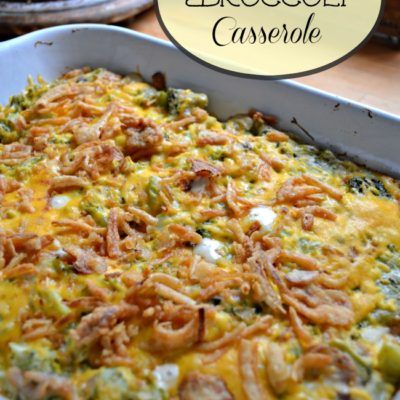 Taste of Home Tuesday – Cheesy Broccoli Casserole