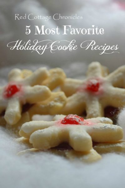 5 Favorite Christmas Cookie Recipes