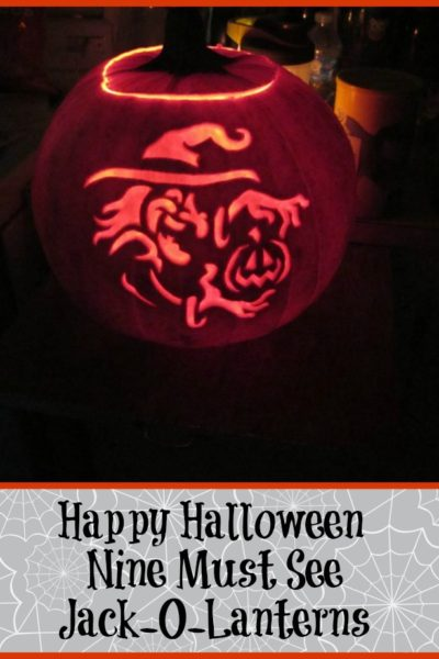 Nine Amazing Jack-O-Lanterns