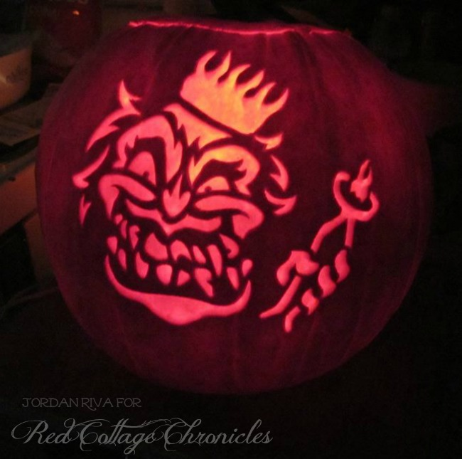 Scary Tooth Fairy Jack-O-Lantern