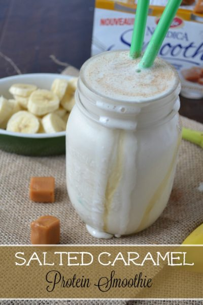 Salted Caramel Protein Smoothie