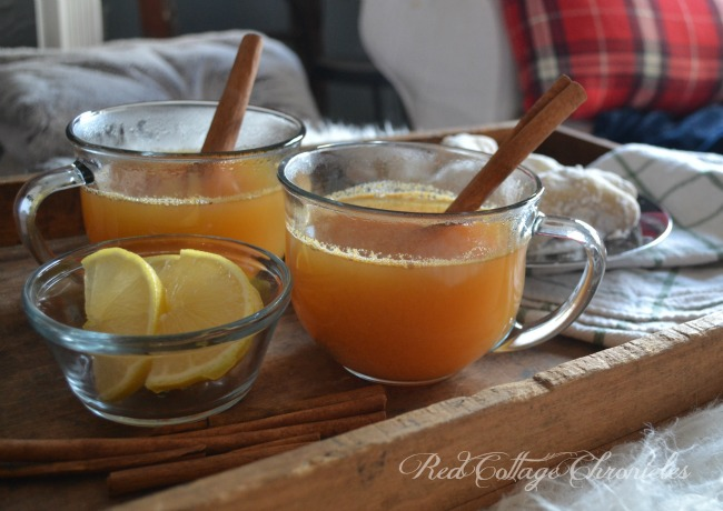 Taste of Home Tuesday Citrus Apple Cider