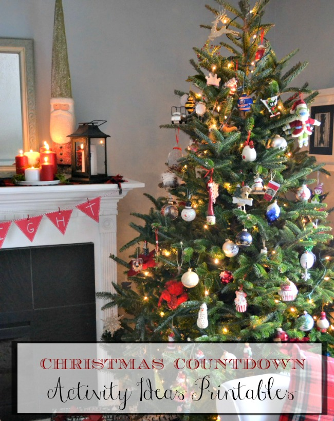 Christmas Countdown Activities Printable
