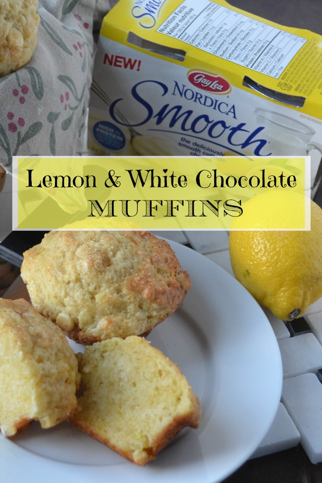 Gay Lea Smooth Cottage Cheese Lemon Muffins