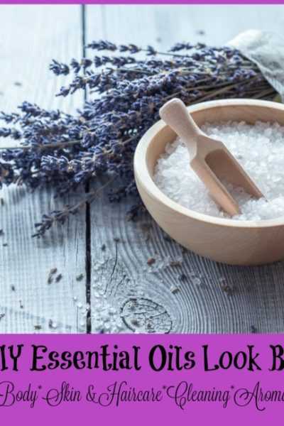 DIY recipes using essential oils Canada