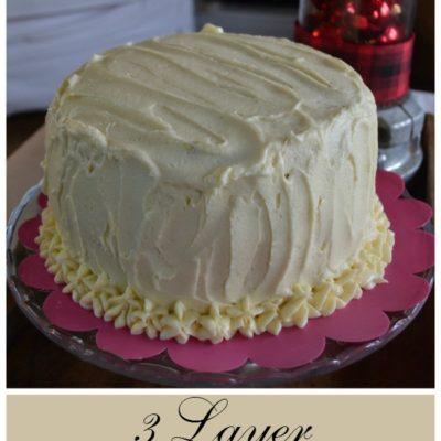 Three Layer Red Velvet Cheesecake