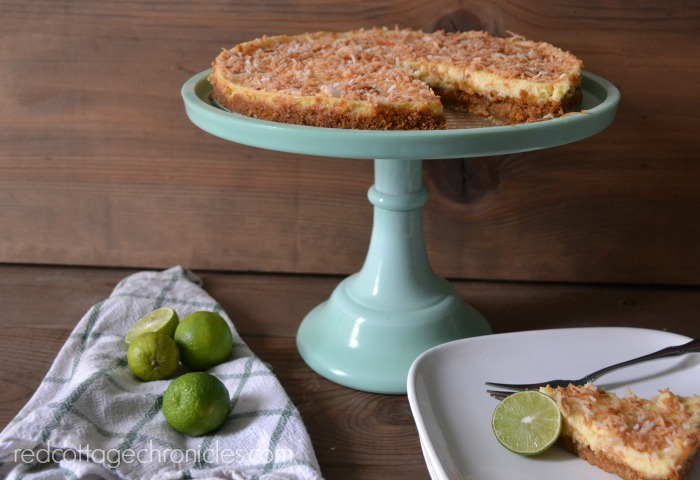 Easy and delicious Key Lime Coconut Tart