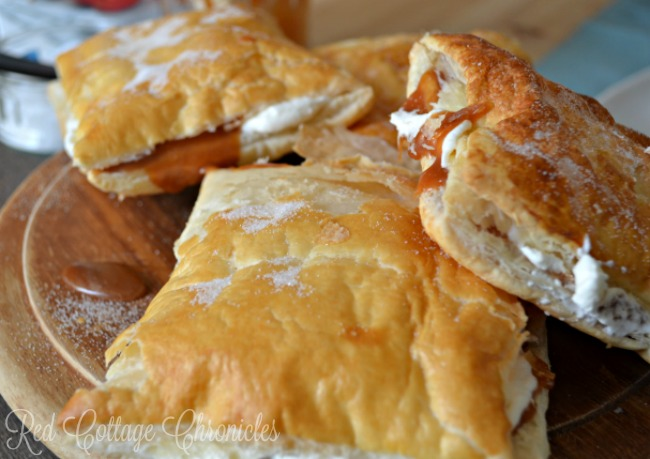 Salted Caramel Puff Pastry made with Windsor Table Salt