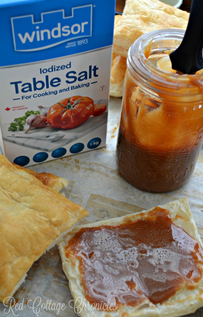 Salted Caramel puff pastry makes a delicious dessert for any occasion