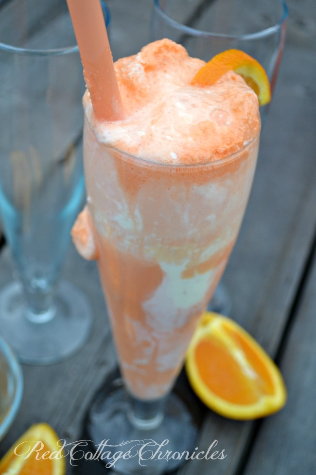 Summer Drink Series Coconut Creamsicle