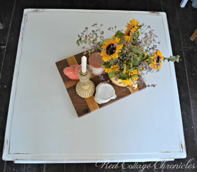 Thrift Store Decor Upcycle Challenge Coffee Table Makeover