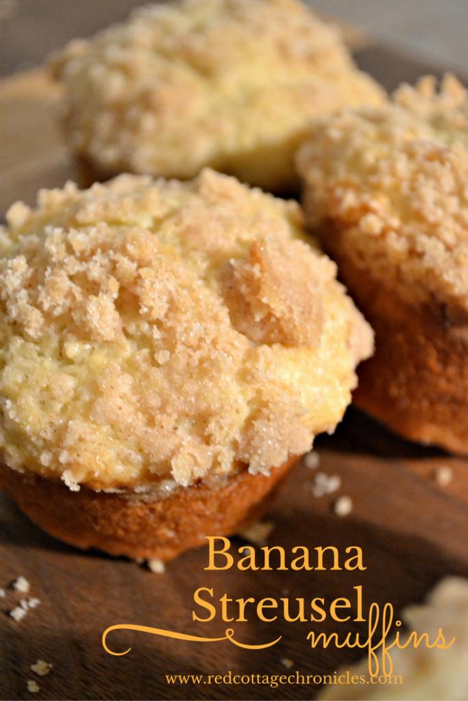 banana-streusel muffins
