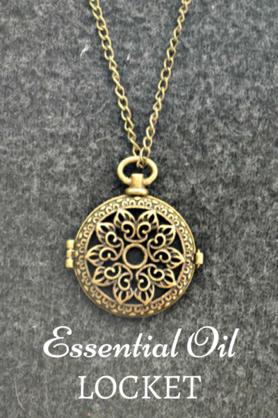 essential oils locket