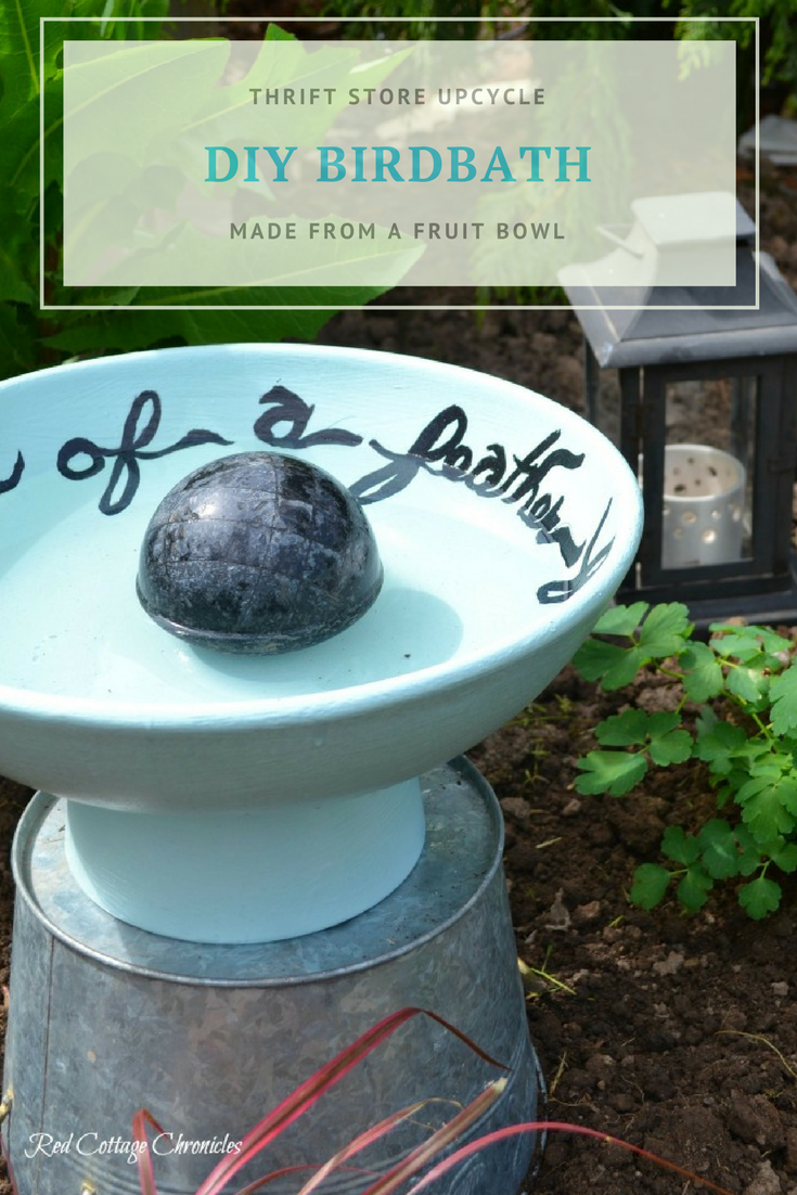 DIY Birdbath ideas