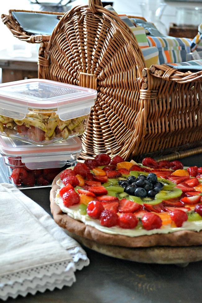Chocolate Fruit Pizza Recipe