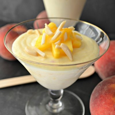 Peach Almond Mousse